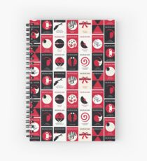 Cuaderno de espiral Libreta de Cubiertas de Libros Haruki Murakami