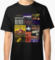 midnight oil fonts through the years Classic T-Shirt