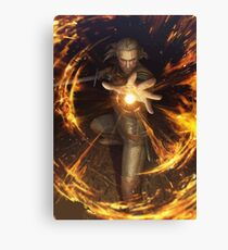 The Witcher - Igni Canvas Print