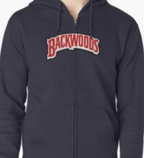 Backwoods Cigar Zipped Hoodie