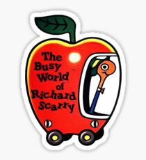 The Busy World of Richard Scarry Sticker