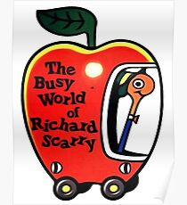 The Busy World of Richard Scarry Poster