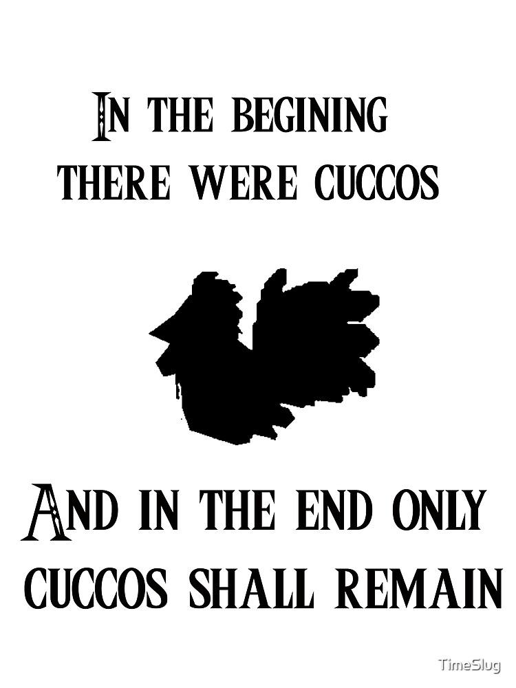 The cucco is nighy by TimeSlug