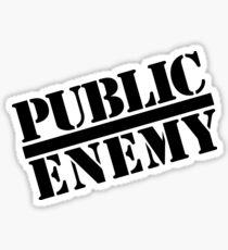 Public Enemy Sticker