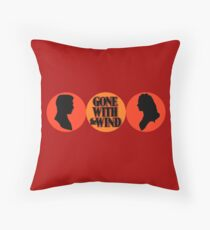 Gone With the Wind (ship logo2) Throw Pillow
