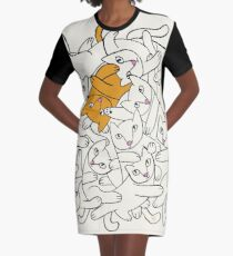There's One in Every Crowd Graphic T-Shirt Dress
