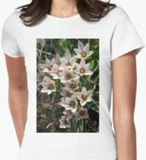 A Bouquet of Miniature Tulips Celebrating the Spring Season - Vertical T-Shirt
