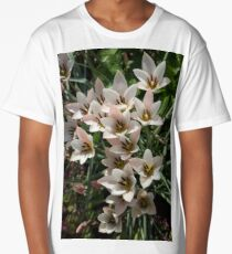 A Bouquet of Miniature Tulips Celebrating the Spring Season - Vertical Long T-Shirt