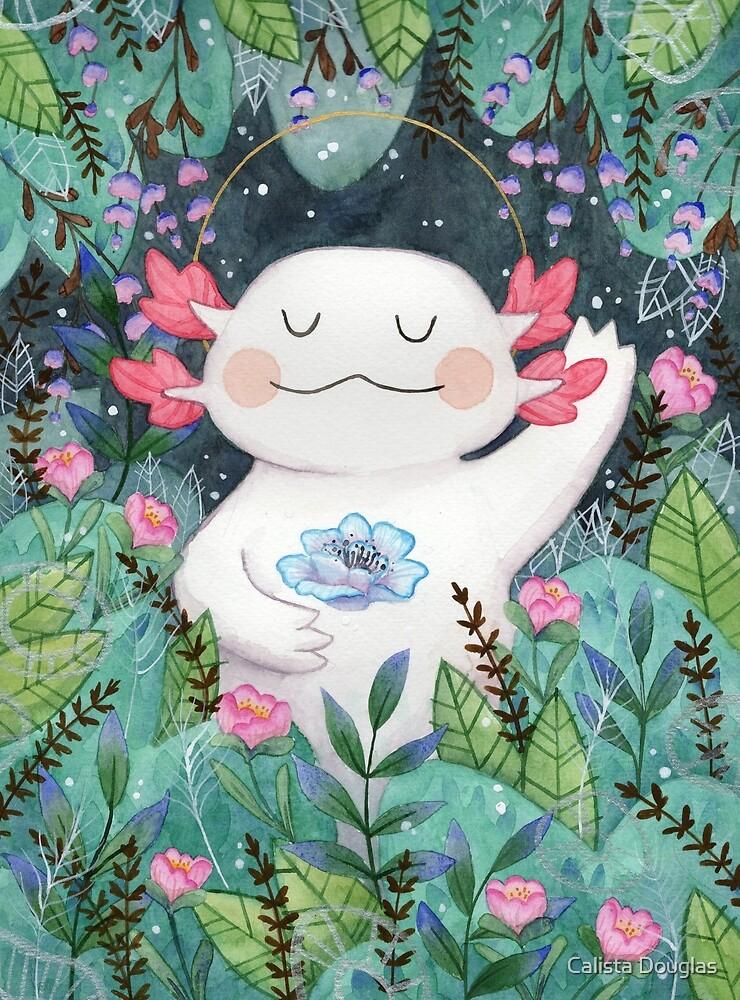 the flower guardian by Calista Douglas