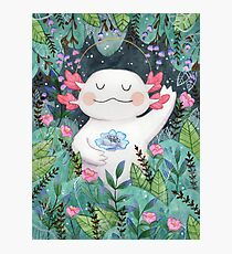 the flower guardian Photographic Print
