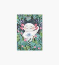 the flower guardian Art Board