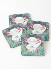 the flower guardian Coasters