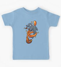 Artistic Dolphin 1 Kids Tee