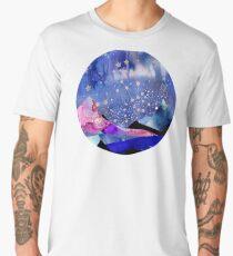Gemini Constellation Watercolour Landscape Men's Premium T-Shirt