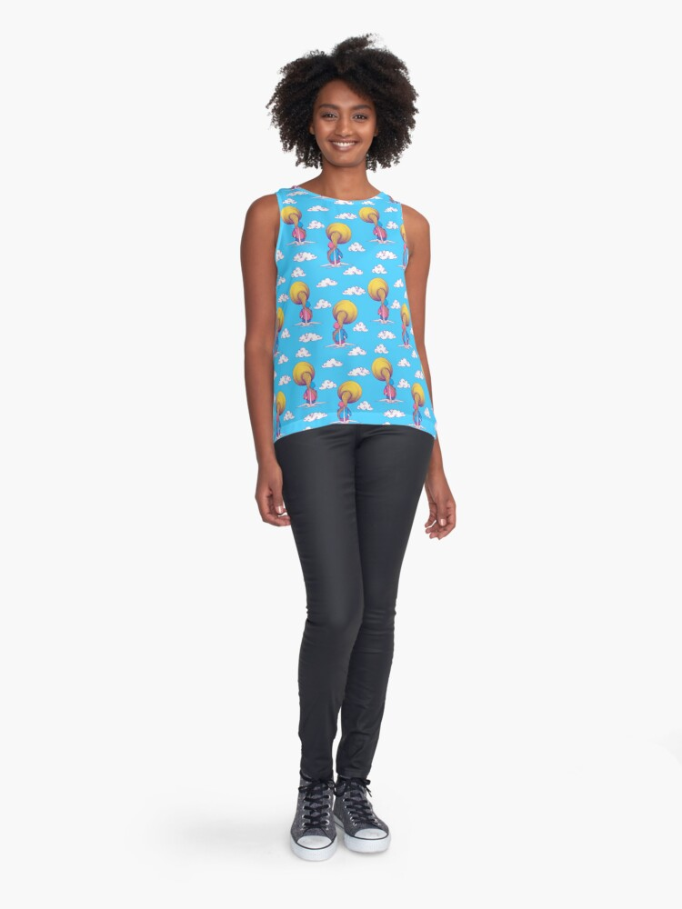 Alternate view of The Extraterrestrial Triumph - Pattern Sleeveless Top