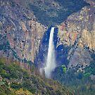 Bridalveil Falls from a far by John Heywood