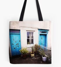 Tourquoise Doors Tote Bag