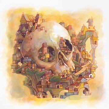Skull Town by rebekieb