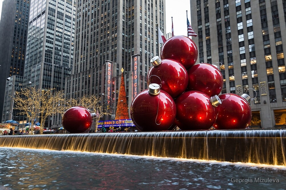 A Christmas Card from New York City – Radio City Music Hall and the ...
