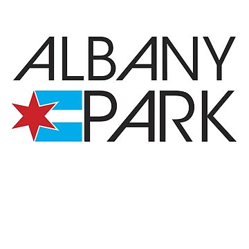 Albany Park Neighborhood Tee by velocitymedia