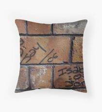 Love Messages Throw Pillow