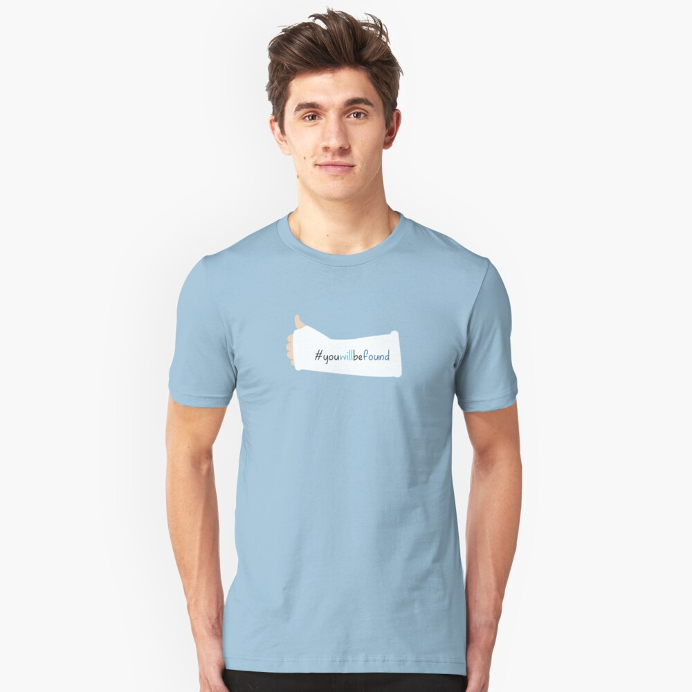You Will Be Found Cast Dear Evan Hansen Unisex T-Shirt Front