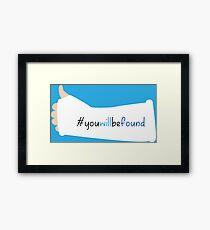 You Will Be Found Cast Dear Evan Hansen Framed Print