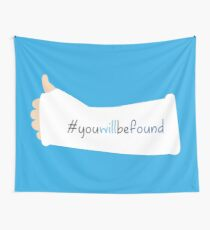 You Will Be Found Cast Dear Evan Hansen Wall Tapestry