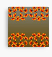 poppy patterns 2 Canvas Print