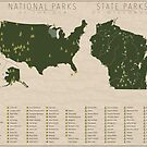 US National Parks - Wisconsin by FinlayMcNevin