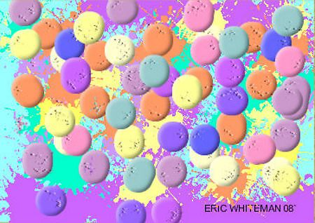 (MORE PASTELS ) ERIC WHITEMAN ART  by eric  whiteman