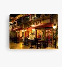 The French Cafe Canvas Print