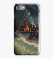 Geometric Waves iPhone Case/Skin