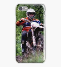 Enduro bike  iPhone Case/Skin