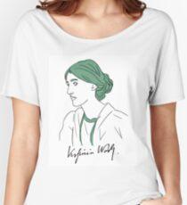 Minimalist Virginia Woolf Women's Relaxed Fit T-Shirt