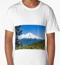 Mt Shasta from Castle Lake Long T-Shirt