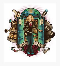 Doctor who Bad wolf Photographic Print