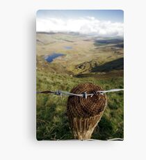 Clouds over the Conor Pass Canvas Print