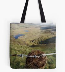 Clouds over the Conor Pass Tote Bag