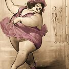 Circus Fat Lady by mindydidit