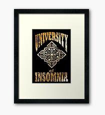 University of Insomnia-FFXV Framed Print