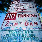 No Parking by Jake Kauffman