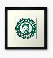 Petrolhead coffe (hammond) Framed Print