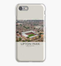 Vintage Football Grounds - Upton Park (West Ham United FC) iPhone Case/Skin