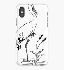 crane iPhone Case/Skin