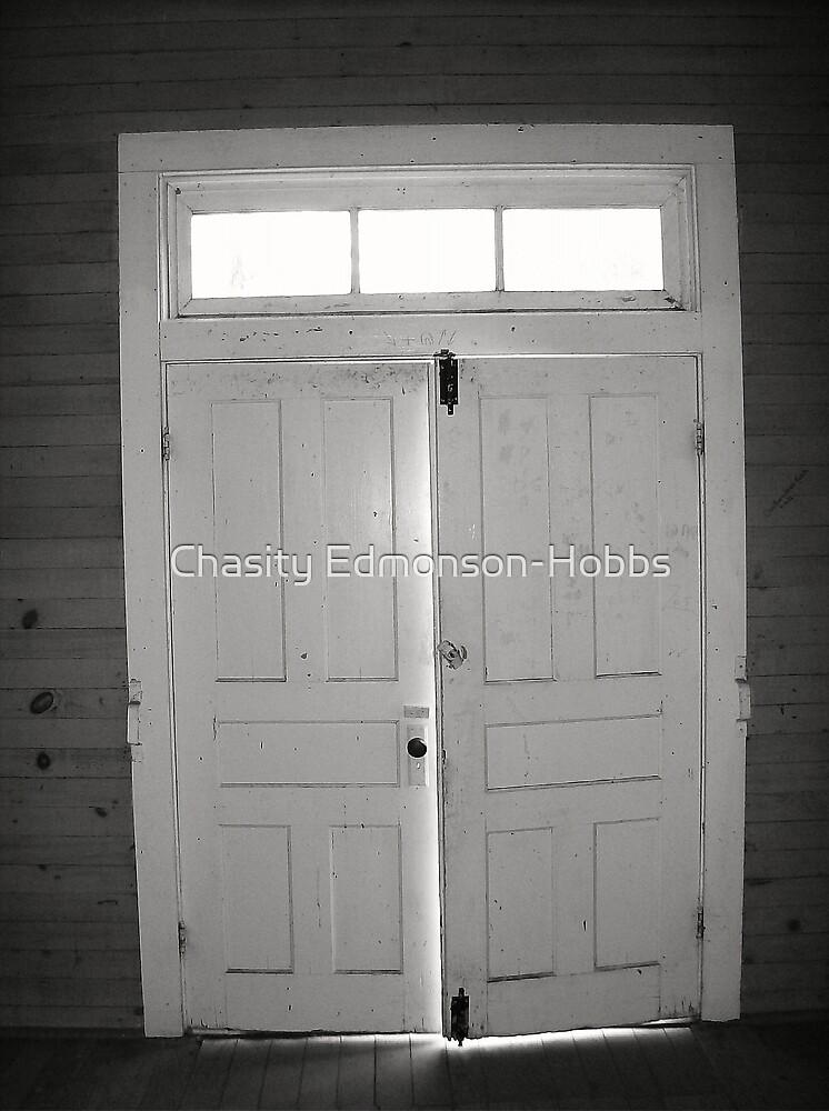 Church doors by Chasity Edmonson-Hobbs