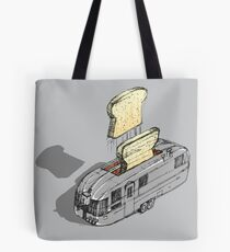 mobile toaster ready to serve - part one Tote Bag