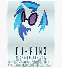 Vinyl Scratch Poster Poster