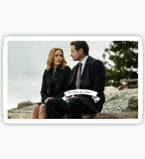 x files Sticker