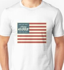 happy 4th of july Unisex T-Shirt